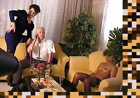 old man threesome mature